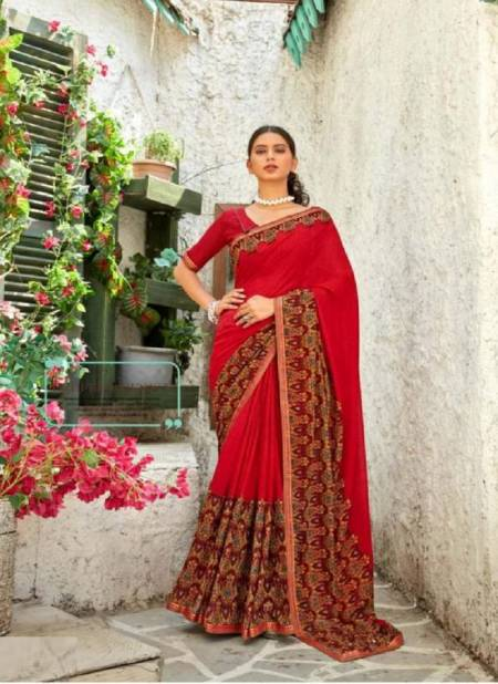 Bharat 12 Casual Wear Renial Printed Designer Latest Fancy Saree Collection