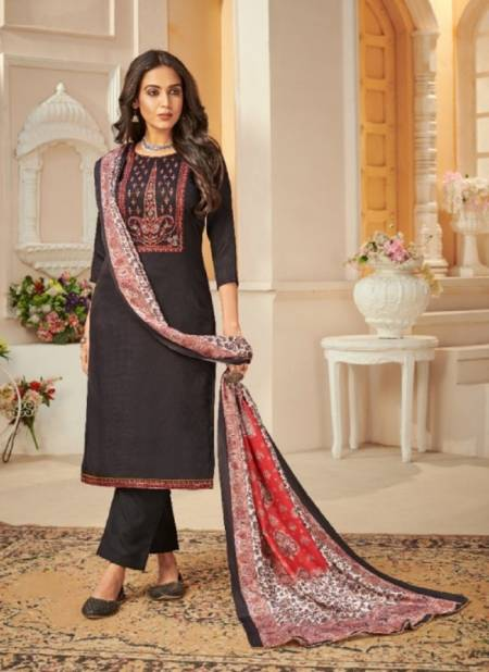 Bipson Kashmiri Beauty Fancy Winter Casual Wear Embroidery Pashmina Collection