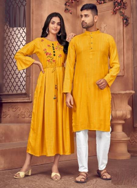 Blue Hills Love Birds 3 Party Wear Designer Rayon Couple Combo Latest Collection