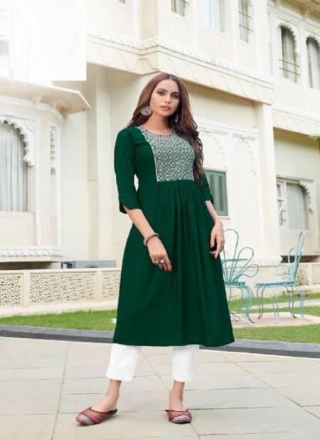 Blue Hills Miss India 5 Designer Ethnic Wear Long Kurti Anarkali Collection