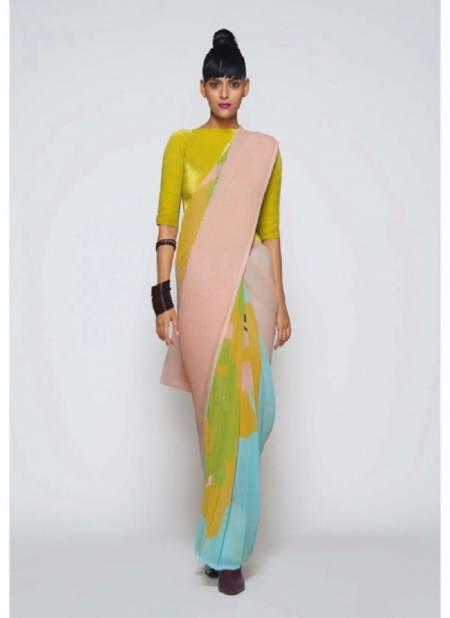 Bt 68 Party Wear Designer Georgette Fancy Party Wear Stylish Saree Collection