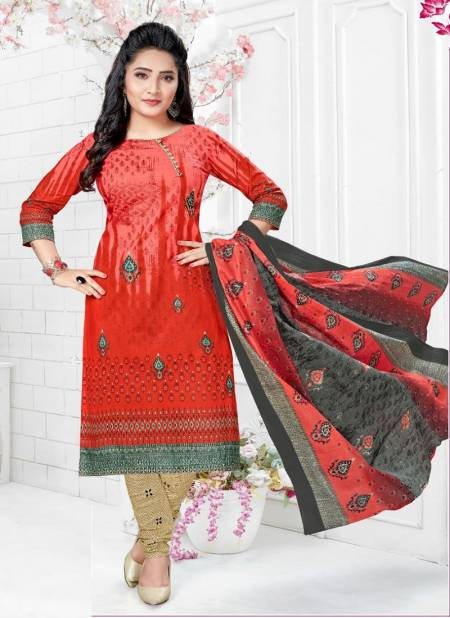Cotton Pluse Heena 13 Regular Casual Wear Printed Cotton Dress Material Collection