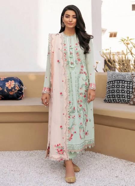 Deepsy Zaha Festive Wear Designer Pure Cotton With Embroidery Pakistani Salwar Kameez Collection