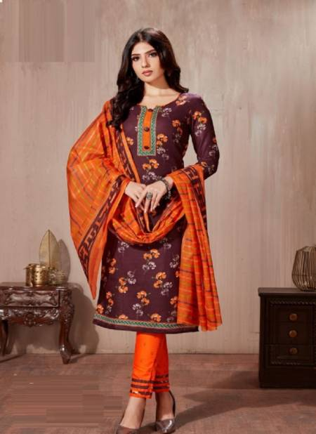 Devi Dhamaka 8 Designer Regular Wear Printed Cotton Dress Material Collection