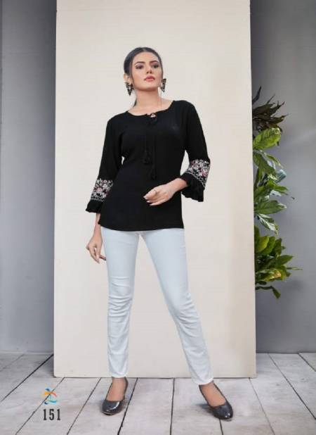 Dovi Ellen Ethnic Wear Rayon Fancy Designer Short Tops Collection