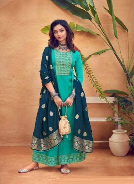Eba Noreen Embroidery Work Festive Wear Designer Heavy Salwar Kameez Collection