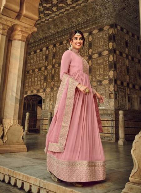 Eba Prime Rose 2 Exclusive Georgette Heavy Embroidery Wedding Wear Gown Style Salwar Kameez Collection
