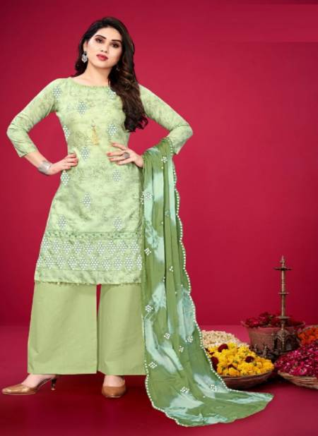 Eira 4 New Colors Designer Ethnic Wear Cotton Salwar Kameez Collection