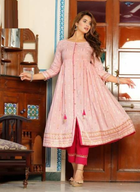 Ethnicity 8 Fancy Ethnic Wear Designer  Anarakali Kurti Latest Collection