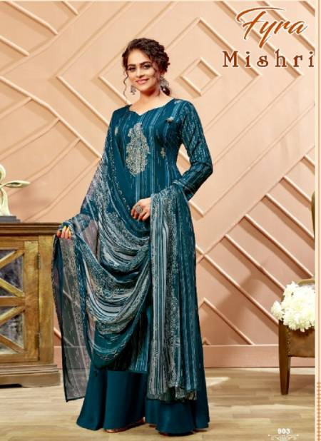 Fyra Mishri Pure Cotton Printed Casual Wear Designer Dress Material Collection