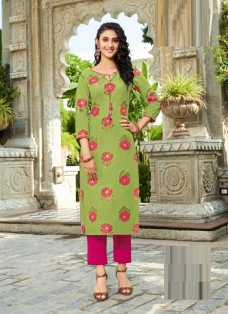 Gardencity 11 Fancy Ethnic Wear Rayon Designer Kurti Latest Collection