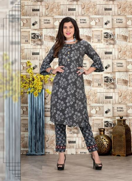 Goodness 2 Ethnic Wear Printed Kurti With Bottom Latest Collection