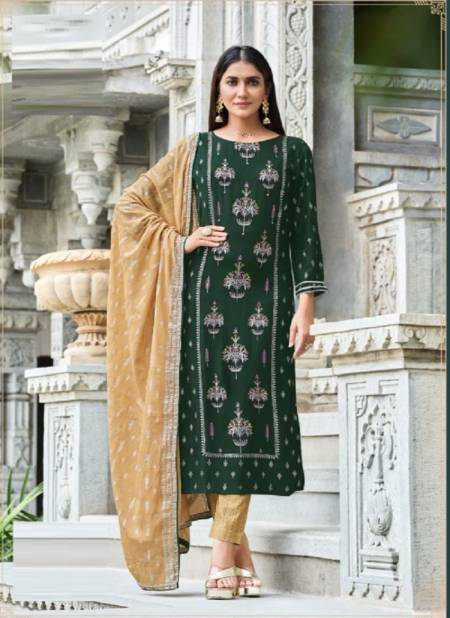 Gulzar 7 Festive Wear Heavy Rayon Print With Embroidery Ready Made Collection