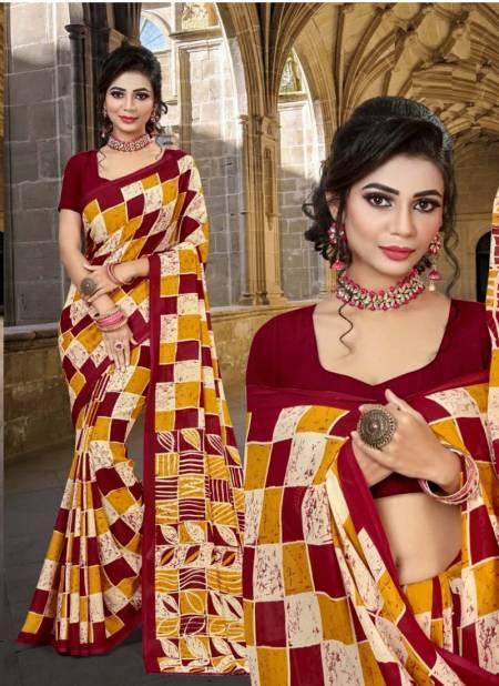 Halla Bol 102 Rennial Casual Daily Wear Renial Printed Saree Collection