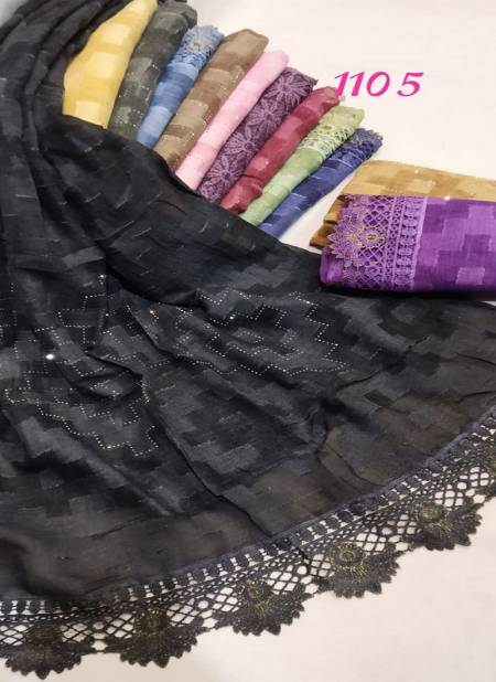 hijab 2002 Fancy Designer Casual Wear Hosiery Cotton Islamic Hijab Collection