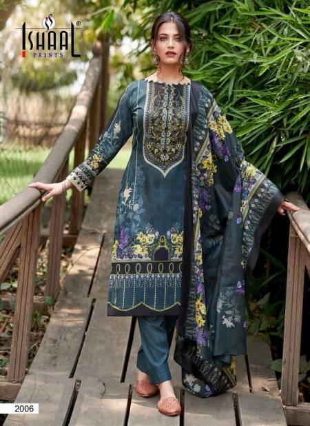 Ishaal Gulmohar Combo 2 Karachi Cotton Printed Dress Material Collection