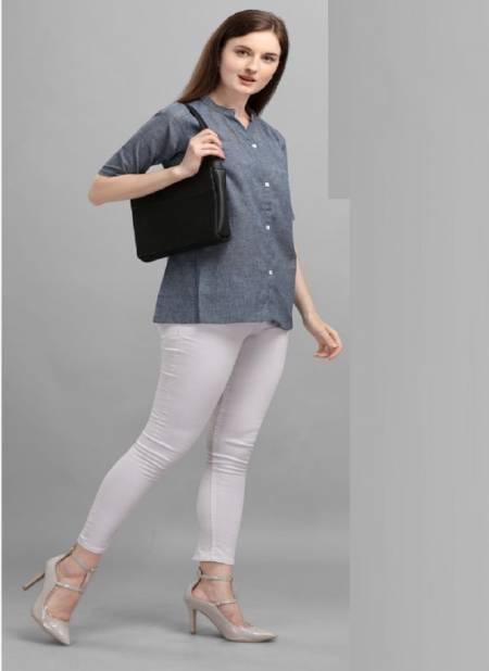 Jelite Carnation 3 Fancy Designer Regular Wear Cotton Ladies Top Collection