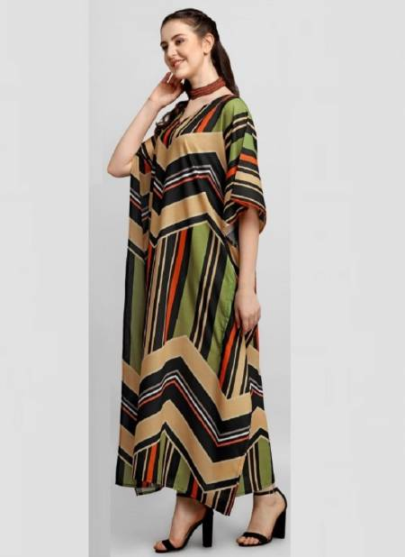 Jelite Stylish Cotton Printed Casual Wear Fancy Kaftans 2 Collection