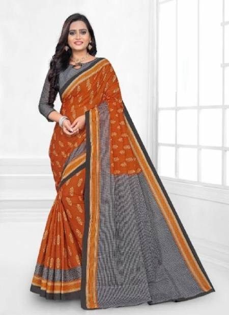 Jk Karishma 1 Casual Daily Wear Cotton Printed Latest Saree Collection