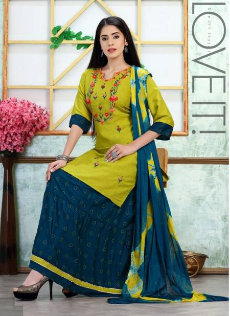 K9 Lilly Fancy Wear Heavy Rayon with Embroidery work Long Kurtis And Skirt With Dupatta Collection