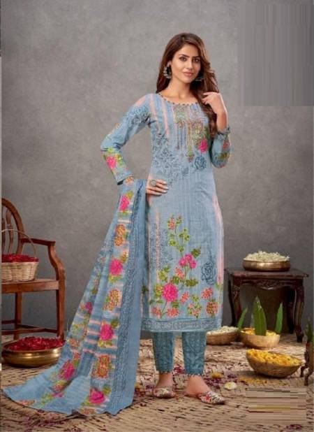 Kala Meher 6 Cotton Printed Daily Wear Designer Dress Material Collection