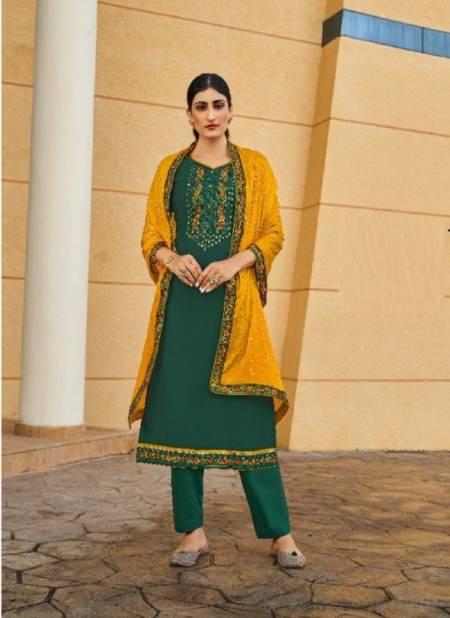 Kalarang Jannat Fancy Festive Wear Embroidery Designer Salwar Kameez