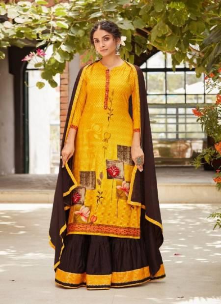 Kalaroop Venue 4 Pure Digital Printed Ethnic Wear Rayon Ready Made Collection
