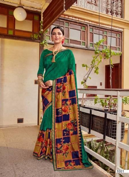 Kalista Falak Causal Daily Wear Vichitra Silk Printed Designer Saree Collection
