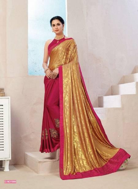 Kalista Kitty Party Wear Designer Vichitra Silk Fancy Latest Saree Collection