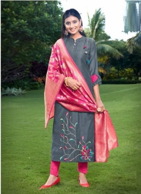 Kanika Occasion 1 Designer Ethnic Wear Linning Kurti With Dupatta Collection