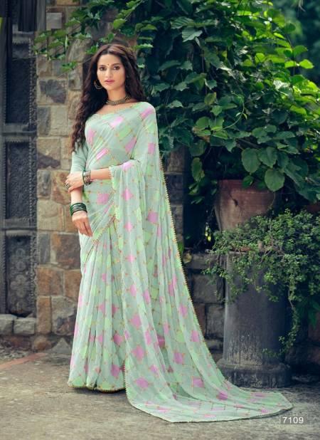 Kashvi Aakruti Casual Wear Georgette Ethnic Wear Printed Latest Saree Collection