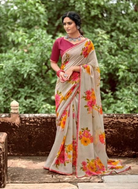 Kashvi Naina Casual Wear Georgette Designer Fancy Saree Collection
