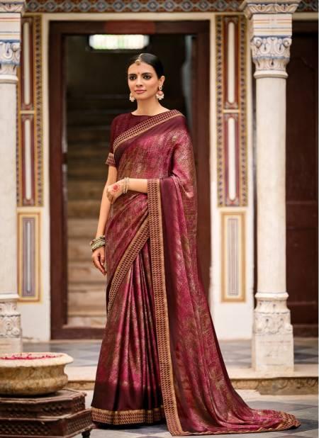 Kashvi Sukanya Ethnic Wear Printed Designer Chiffon Saree Collection