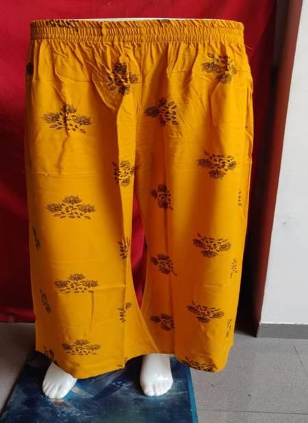 Kavyansika Mahek 7 Casual Wear Rayon Printed Palazzo  Collection
