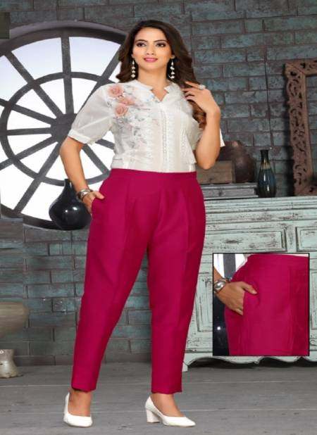 Kavyansika Silky Premium Casual Fancy Wear Comfortable Pants Collection