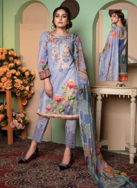 Keval Kainat Luxury Cotton Casual Wear Karachi Collection 1 Dress Material