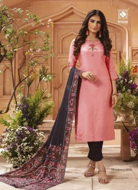 Kiana Shamma Designer Festive Wear Fancy Latest Readymade Collection