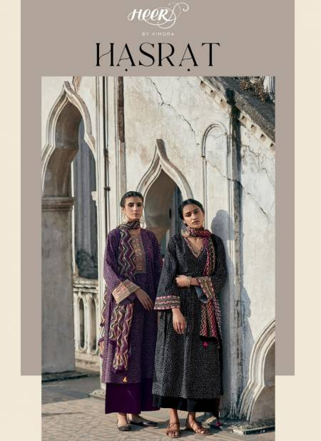 KIMORA PAKIZA Heavy Fancy Designer Pure Finest Cotton Print With Embroidered Salwar Suit Collection