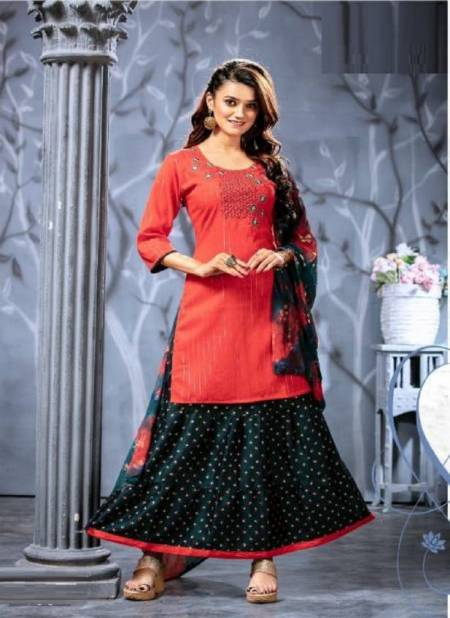 Kinti Malhar Fancy Ethnic Wear Designer Rayon Printed Designer Fancy Ready Made Collection