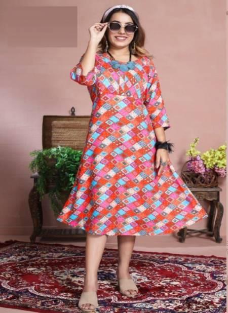 Kinti Mamta 8 Latest Ethnic Wear Fancy Designer Kurti Collection