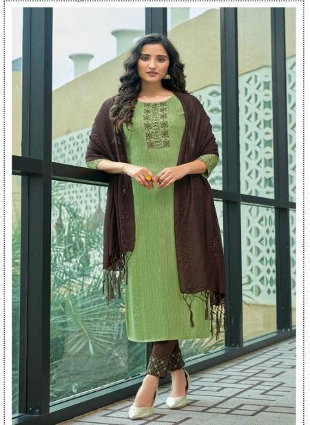 Ladies Flavour Kashish Fancy Festive Wear Heavy Rayon Weaving pattern Ready Made Collection