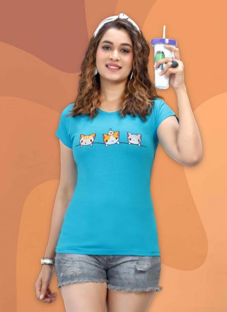 Lady Hill 60 2002 Cotton Hosiery Daily Wear Comfortable T-shirt Collection