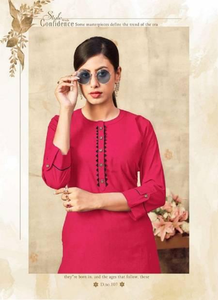 Lakhani Sinorita Pure Cotton Ready Made Designer Kurti Collection