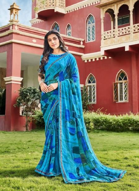Laxmina Radha Rani Casual Wear Georgette Printed Designer  Saree Collection