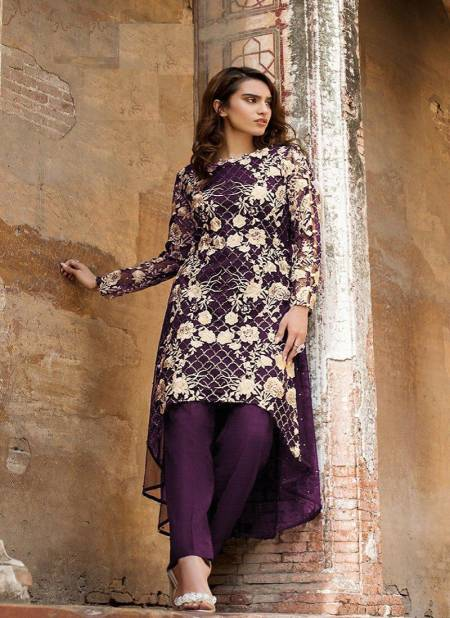 Laxuria Trendz 1145 Georgette Festive Wear Tops With Bottom Collection