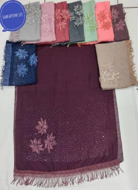 Lilan Flower 5 Fancy Designer Casual Wear Hosiery Cotton Islamic Collection