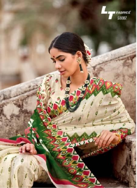 Lt Nivrata Silk Regular Casual Wear Printed Cotton Silk Sarees Collection