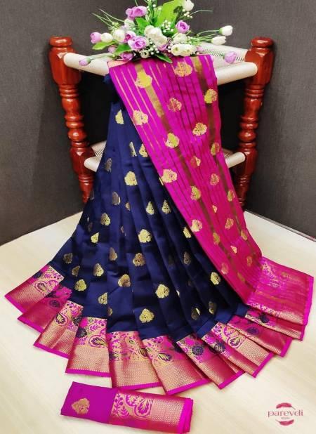 Maahi 20 Fancy Party Wear Banarasi Silk Designer Saree Collection