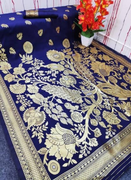 Maahi 41 Party Wear Banarasi Silk Latest Designer Saree Collection