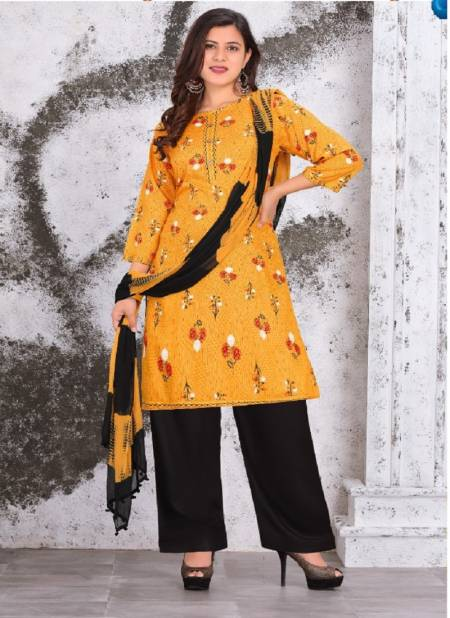 Magnet Regular Wear Printed Rayon Designer Fancy Ready Made Collection